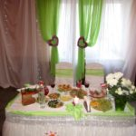 Украшение свадьбы №61