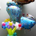 Воздушные шары с гелием для малыша