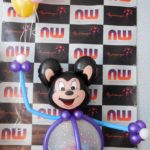 Микки Маус из воздушных шариков