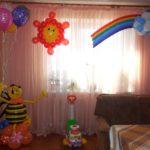 Украшение дома на День Рождения