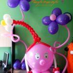 Украшение детских праздников воздушными шарами