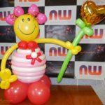 Куколка из воздушных шариков