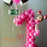 Цифры из воздушных шаров