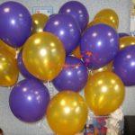 Выпускные в школе. Гелиевые шарики