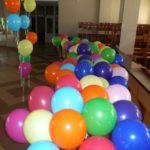 Выпускные в школе. Украшение шарами
