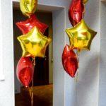 Украшение новогоднее из шариков №1