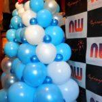 Украшение новогоднее из шариков